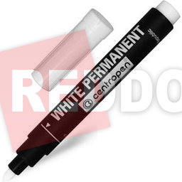 Centropen 8586 White Permanent